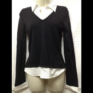 Junior's size Large (runs small) 2-in-1 blouse